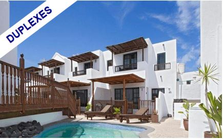 DUPLEXES FOR SALE IN LANZAROTE